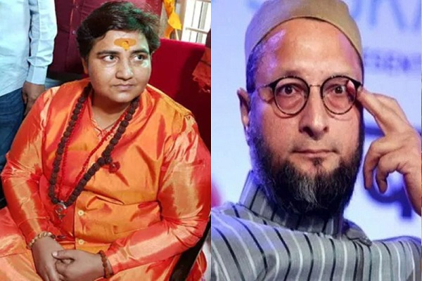 Owaisi counterattack on the statement of Sadhvi Pragya Thakur