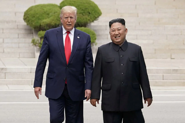 North Korea's Missile Test, Trump Beechrr, said no threat to the United States